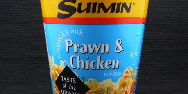 Suimin Noodles with Prawn & Chicken