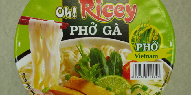 Acecook Oh! Ricey Pho Ga Chicken